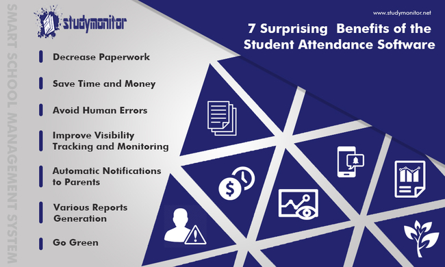 benefits of student attendance software
